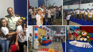 Photo of Chapada: Estudantes de Itaberaba concluem Proerd e formatura é marcada por atividades artísticas