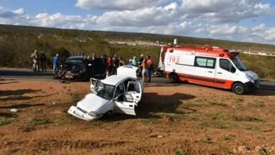 Photo of #Bahia: Idosa morre e quatro pessoas ficam feridas em acidente na região de Vitória da Conquista