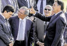 Photo of #Polêmica: Imagem de Bolsonaro estampada em jornal gera discussões sobre subordinação de Moro