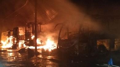 Photo of Chapada: Bandidos causam prejuízo de R$18 milhões para empresa de ônibus que teve garagem incendiada em Jacobina