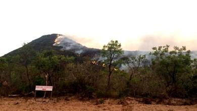 Photo of Chapada: Novo incêndio florestal atinge região próxima da cidade de Rio de Contas