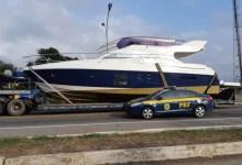 Photo of #Bahia: Barco de luxo é flagrado pela PRF sendo transportado de forma irregular na região de Milagres