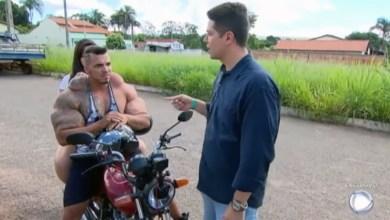 Photo of Chapada: Hulk brasileiro é natural de Iraquara e foi entrevistado pela Record TV; veja vídeo