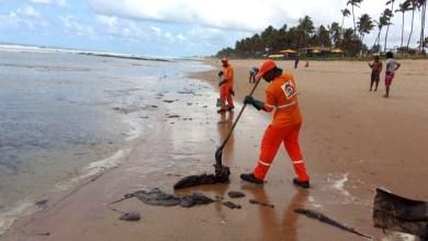 Photo of #Bahia: Praia de Vilas do Atlântico em Lauro de Freitas registra novas manchas de óleo