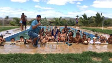 Photo of Chapada: Escolinha comunitária de futebol em Palmeiras envolve crianças em dia de lazer