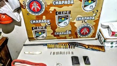 Photo of Chapada: Policiais da Cipe apreendem explosivos com criminoso no município de Brotas de Macaúbas