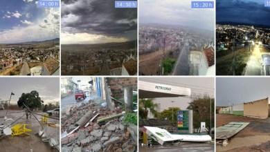 Photo of Chapada: Chuva e ventos fortes causam transtornos e prejuízos em Itaberaba; veja vídeos