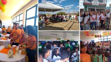 Photo of Chapada: Estudantes de escola municipal em Wagner debatem saúde e qualidade de vida durante feira