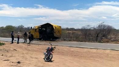 Photo of #Bahia: Criminosos explodem carro-forte na região de Casa Nova e roubam malotes de dinheiro