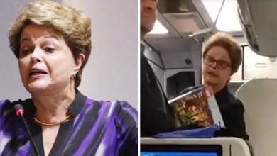 """Photo of #Vídeo: Ex-presidente Dilma é hostilizada em avião e responde: """"Defendem milícia, não é isso?"""""""