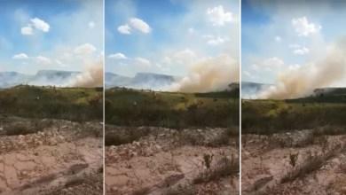Photo of Chapada: Novo incêndio florestal consome vegetação da Serra da Bateia em Ituaçu; veja vídeos