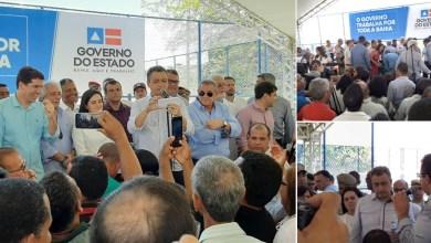 Photo of #Vídeo: Rui Costa tem mal-estar por causa do calor durante evento em Jequié; Samu fez o atendimento