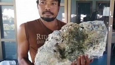 Photo of #Mundo: Catador de lixo da Tailândia encontra âmbar de baleia avaliado em R$2,9 milhões