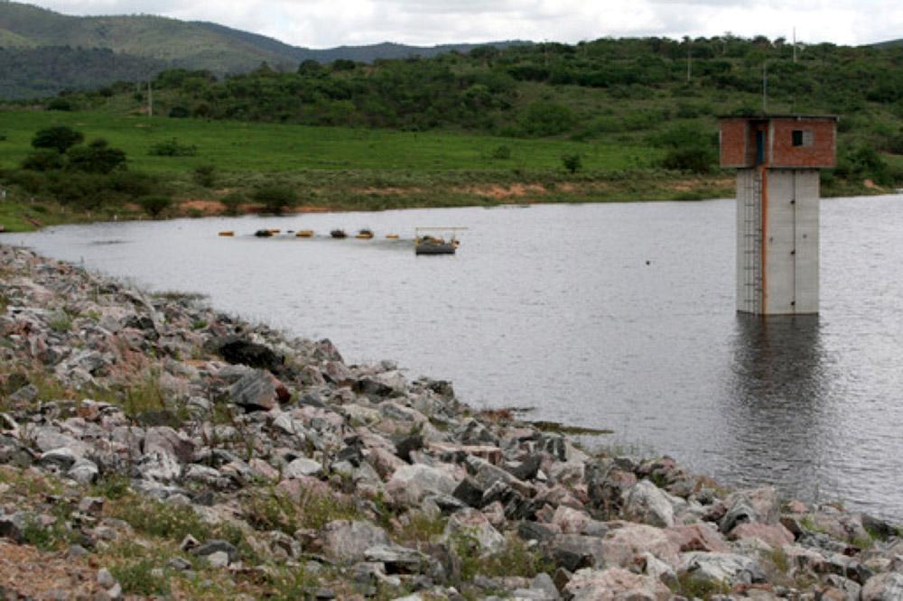 Chapada: Barragem do França ganha volume de água após chuvas que ...