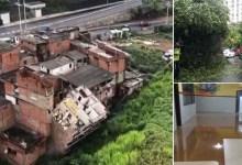 Photo of #Vídeos: Salvador supera média histórica de 80mm de chuva; prédio de cinco andares desaba