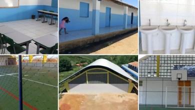 Photo of Chapada: Prefeito de Lençóis entrega reforma de escola e ginásio na comunidade de Riachãozinho