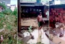 Photo of #Bahia: Canal transborda, água invade casas e moradores têm prejuízos durante chuvas em Ipirá