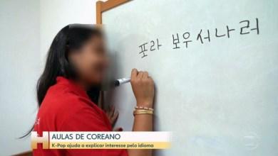 """Photo of #Brasil: Estudante prega peça no 'Jornal Hoje' ao escrever """"Fora Bolsonaro"""" em coreano"""