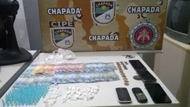 Photo of Chapada: Policiais da Cipe prendem quatro por envolvimento com tráfico de drogas em Itaetê