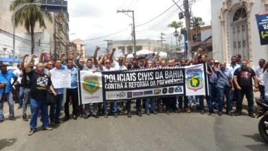 Photo of #Bahia: Policiais civis e penais devem parar atividades por 48h na segunda em protesto contra a reforma da previdência