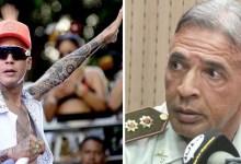 """Photo of #Polêmica: """"Não aguenta um tapa"""", diz coronel da PM da Bahia ao revelar que encontrou Kannário em restaurante e pensou duas vezes em bater"""