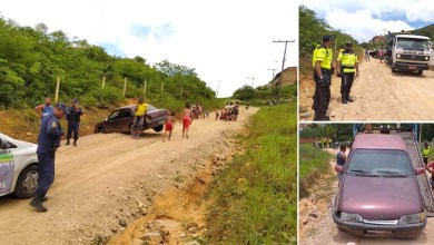 Photo of Chapada: Motorista com sinais de embriaguez atropela três pessoas da mesma família em Jacobina