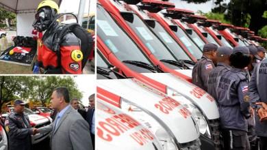 Photo of Chapada: Corpo de Bombeiros de Itaberaba recebe ambulância de resgate, viatura e equipamentos de mergulho
