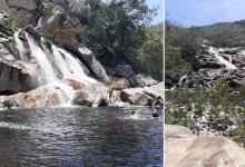 Photo of Chapada: Cachoeira em povoado do município de Abaíra atrai turistas pela beleza e fácil acesso; confira imagens