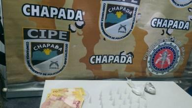 Photo of Chapada: Suspeito de envolvimento com tráfico é preso em flagrante no município de Itaetê