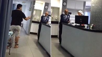 """Photo of #Vídeo: Médico ofende e ameaça enfermeira em hospital; """"Incompetente"""", """"miserável"""" e """"fodida"""""""