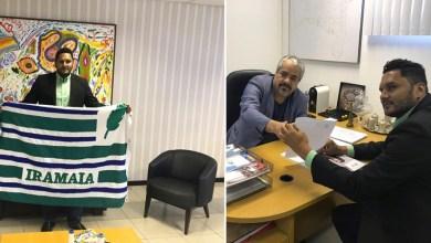 Photo of Chapada: Pré-candidato à prefeitura de Iramaia, Elmo Senhorinho debate ações políticas com deputado Fabrício Falcão