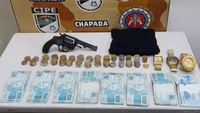Photo of Chapada: Suspeito com passagens por sequestro e roubo a bancos morre em confronto com a Cipe; R$14 mil foram apreendidos