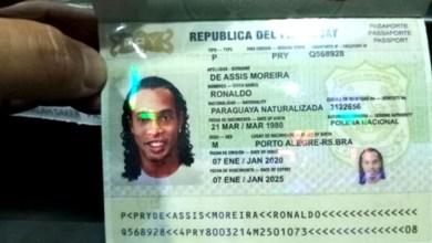 Photo of #Urgente: Ronaldinho Gaúcho é preso suspeito de portar passaporte falso no Paraguai