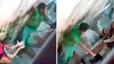 Photo of #Vídeo: PM é flagrado batendo em suspeitos com pedaço de madeira; militares envolvidos no caso foram presos