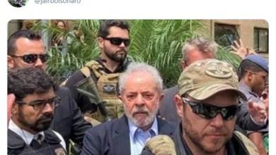 """Photo of #Polêmica: Bolsonaro posta foto de Lula em velório do neto para provocar Haddad e recebe invertida; """"Vai trabalhar, vagabundo!"""""""