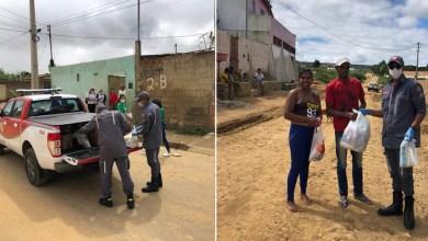 Photo of #Chapada: Grupamento de Bombeiros Militar de Itaberaba reforça a campanha 'Quarentena Solidária' na região