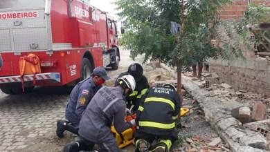 Photo of #Chapada: Bombeiros de Itaberaba atendem vítimas atingidas por queda de muro no município