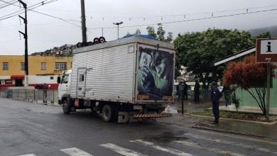 Photo of #Chapada: Caminhão que vinha da Paraíba transportando 11 pessoas dentro de baú é interceptado na barreira de Jacobina