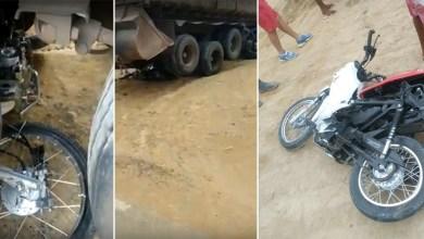 Photo of #Chapada: Moto colide com caminhão e vai parar debaixo do veículo na região de Ruy Barbosa