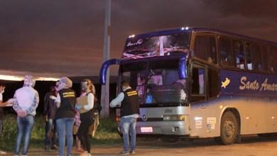Photo of #Chapada: Ônibus vindo de fora do estado é interceptado em Morro do Chapéu com passageiros de Jacobina