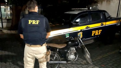 Photo of #Bahia: PRF prende homem que pilotava bêbado e inabilitado uma moto roubada na região de Rafael Jambeiro