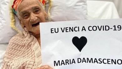 """Photo of #Salvador: """"Eu venci a covid-19"""", diz idosa de 95 anos após se recuperar da doença causada pelo coronavírus"""