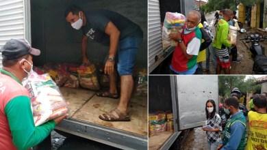 Photo of #Chapada: Prefeito de Itaberaba entrega cestas básicas para mototaxistas durante crise sanitária da covid-19