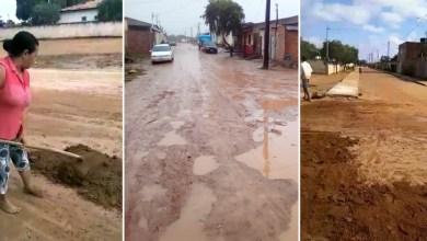 Photo of #Chapada: Chuvas afetam estradas e vias em Morro do Chapéu e moradores denunciam abandono da gestão municipal
