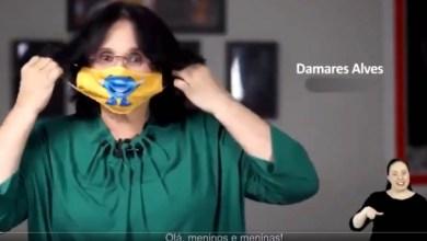 """Photo of #Vídeo: Internautas criticam """"concurso de máscaras"""" e nome da ministra Damares vai parar no Trending Topics"""