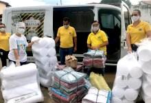 Photo of #Chapada: Lions Clube de Itaberaba entrega cobertores e insumos para instituições de idosos no município