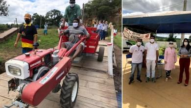 Photo of #Chapada: Prefeita de Nova Redenção intensifica ações contra o coronavírus, entrega microtrator e amplia investimentos na zona rural
