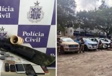 Photo of #Chapada: Dez traficantes envolvidos em homicídios, roubos, porte ilegal de arma são capturados em Tapiramutá
