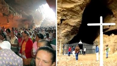 Photo of #Chapada: Pandemia modifica tradicional celebração que acontece na gruta da Lapinha em Ibiquera