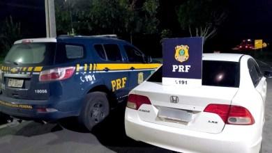 Photo of #Chapada: Carro roubado há duas semanas em São Paulo é recuperado pela PRF na região de Seabra